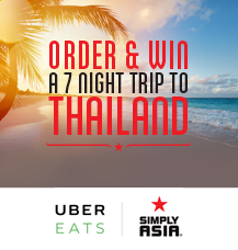 Order on UberEATS and WIN!