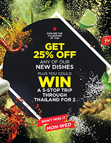 win a trip trough thailand